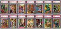 "Non-Sport Cards:Sets, 1962 Topps ""Mars Attacks"" PSA Graded Complete Set (55) - With 5.9GPA. ..."