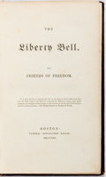 Books:Americana & American History, Friends of Freedom. Liberty Bell. Boston: NationalAnti-Slavery Bazaar, 1853. Twelvemo. Publisher's binding withgil...