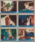 "Movie Posters:Hitchcock, Dial M for Murder (Warner Brothers, 1954). Lobby Cards (6) (11"" X14""). Hitchcock.. ... (Total: 6 Items)"