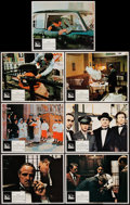 "Movie Posters:Crime, The Godfather (Paramount, 1972). Lobby Cards (7) (11"" X 14"").Crime.. ... (Total: 7 Items)"