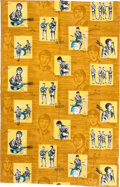 Music Memorabilia:Memorabilia, Beatles Vintage Curtains (Netherlands, 1960s)....