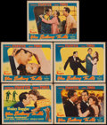 """Movie Posters:Romance, You Belong to Me (Columbia, 1941). Title Lobby Card & Lobby Cards (4) (11"""" X 14""""). Romance.. ... (Total: 5 Items)"""
