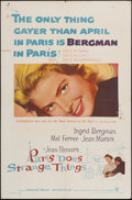 """Movie Posters:Foreign, Paris Does Strange Things (Warner Brothers, 1956). One Sheet (27"""" X 41""""). Foreign.. ..."""