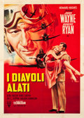 "Movie Posters:War, Flying Leathernecks (RKO, 1952). Italian 2 - Foglio (39"" X 55"")....."