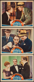 "Movie Posters:Mystery, Penthouse (MGM, 1933). Lobby Cards (3) (11"" X 14""). Mystery.. ...(Total: 3 Items)"