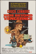 "Movie Posters:Western, Ride Beyond Vengeance (Columbia, 1966). One Sheet (27"" X 41""). Western.. ..."