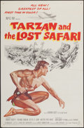 "Movie Posters:Adventure, Tarzan and the Lost Safari (MGM, 1957). One Sheet (27"" X 41"").Adventure.. ..."