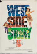 "Movie Posters:Academy Award Winners, West Side Story (United Artists, R-1968). One Sheet (27"" X 39.75"").Academy Award Winners.. ..."