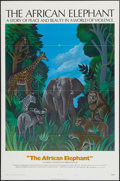 """Movie Posters:Documentary, The African Elephant & Other Lot (National General, 1971). One Sheets (2) (27"""" X 41"""") Style B & Regular. Documentary.. ... (Total: 2 Items)"""
