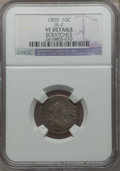Early Dimes, 1800 10C -- Scratches -- NGC Details. VF. JR-2, R.5....