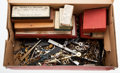 Timepieces:Other , A Large Box Of Miscellaneous Watchmaker's Tools. ...