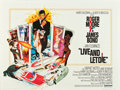 """Movie Posters:James Bond, Live and Let Die (United Artists, 1973). British Quad (30"""" X 40"""")....."""