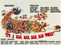 "It's a Mad, Mad, Mad, Mad World (United Artists, 1963). British Quad (30"" X 40"")"