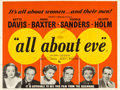 "Movie Posters:Academy Award Winners, All About Eve (20th Century Fox, 1950). British Quad (30"" X 40"").. ..."