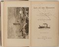 Books:Literature 1900-up, Mark Twain. Life on the Mississippi. Boston: James R.Osgood, 1883. First edition, later state. Octavo. Illustration...