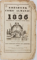 Books:Americana & American History, The National Comic Almanac, 1836. Published by the President of theAmerican Eating Club. Octavo. Illustrated throughout. St...