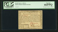 Colonial Notes:Rhode Island, Rhode Island July 2, 1780 $2 PCGS Gem New 66PPQ.. ...