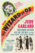 "Movie Posters:Fantasy, The Wizard of Oz (MGM, R-1949). One Sheet (27"" X 41"") & LobbyCard (11"" X 14"").. ... (Total: 2 Items)"
