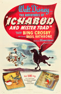 "Movie Posters:Animation, The Adventures of Ichabod and Mr. Toad (RKO, 1949). One Sheet (27"" X 41"").. ..."