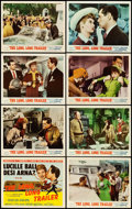 """Movie Posters:Comedy, The Long, Long Trailer (MGM, 1954). Lobby Card Set of 8 (11"""" X14"""").. ... (Total: 8 Items)"""