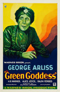 "Movie Posters:Adventure, The Green Goddess (Warner Brothers, 1930). One Sheet (27"" X 41"")Style A.. ..."