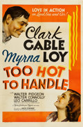"""Movie Posters:Comedy, Too Hot to Handle (MGM, 1938). One Sheet (27"""" X 41"""") Style C.. ..."""
