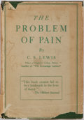 Books:Religion & Theology, C.S. Lewis. The Problem of Pain. New York: The MacMillan Company, 1945. Later edition. Octavo. Publisher's binding i...