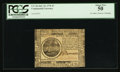 Colonial Notes:Continental Congress Issues, Continental Currency July 22, 1776 $7 PCGS About New 50.. ...