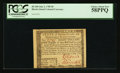 Colonial Notes:Rhode Island, Rhode Island July 2, 1780 $8 PCGS Choice About New 58PPQ.. ...