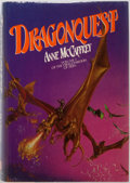 Books:Science Fiction & Fantasy, Anne McCaffrey. Dragonquest. Del Rey / Ballantine, 1979. First edition, first printing. Publisher's binding and ...