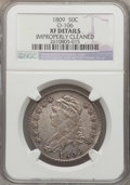 Bust Half Dollars: , 1809 50C Normal Edge -- Improperly Cleaned -- NGC Details. XF.O-106. NGC Census: (50/349). PCGS Population (67/368). Mint...