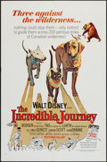 """Movie Posters:Adventure, The Incredible Journey & Other Lot (Buena Vista, R-1969). OneSheets (2) (27"""" X 41""""). Adventure.. ... (Total: 2 Items)"""