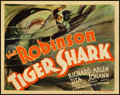 "Movie Posters:Drama, Tiger Shark (First National, 1932). Title Lobby Card (11"" X 14"")....."