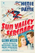 "Movie Posters:Musical, Sun Valley Serenade (20th Century Fox, 1941). One Sheet (27"" X 41"")Style A.. ..."