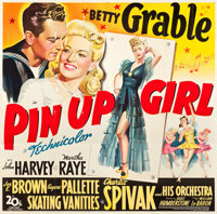 "Pin Up Girl (20th Century Fox, 1944). Six Sheet (81"" X 80"")"