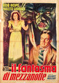"""Movie Posters:Horror, The Cat and the Canary (Scalera Film, Late 1940s). First Post-War Release Italian 2 - Foglio (39"""" X 55"""").. ..."""