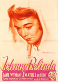"Movie Posters:Drama, Johnny Belinda (Warner Brothers, 1949). Italian 2 - Foglio (39.25""X 55"").. ..."