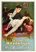 "Movie Posters:Drama, His Birthright (Haworth Pictures Corp., 1918). One Sheet (27"" X41"").. ..."