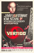 "Movie Posters:Hitchcock, Vertigo (Paramount, R-1961). International One Sheet (27.75"" X41.5"").. ..."