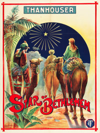 "Star of Bethlehem (Film Supply, 1912). British Poster (30"" X 40"")"