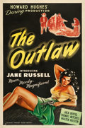 "Movie Posters:Western, The Outlaw (United Artists, 1946). One Sheet (27"" X 40.75"").. ..."