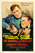 "Movie Posters:Crime, The Making of O'Malley (First National, 1925). One Sheet (27"" X41"").. ..."