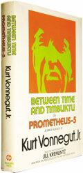 Books:First Editions, Kurt Vonnegut, Jr.: Between Time and Timbuktu orPrometheus-5: A Space Fantasy (New York: DelacortePress, 1972), fi... (Total: 1 Item)