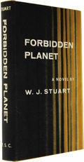 Books:Fiction, W. J. Stuart: Forbidden Planet (New York: Farrar, Straus and Cudahy, 1956), first edition, 184 pages, yellow cloth with ... (Total: 1 Item)