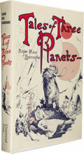 Books:First Editions, Edgar Rice Burroughs: Tales of Three Planets....