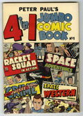 Golden Age (1938-1955):Miscellaneous, Peter Paul's 4 in 1 Jumbo Comic Book #1 (Charlton, 1953) Condition: FN....