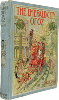 Books:First Editions, L. Frank Baum: The Emerald City of Oz....