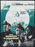"Movie Posters:War, The Bedford Incident (Columbia, 1965). French Petite (23.5"" X31.5""). War. Directed by James B. Harris. Starring Richard Wid..."
