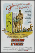 """Movie Posters:Adventure, Born Free (Columbia, 1966). One Sheet (27"""" X 41""""). Children's.Directed by James H. Hill. Starring Virginia McKenna, Bill Tr..."""