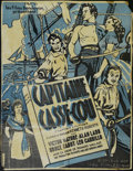 "Movie Posters:Adventure, Captain Caution (United Artists, 1940). French Poster (35"" X 45"").War. Directed by Richard Wallace. Starring Victor Mature,..."